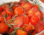 Tomatoes with Rosemary and Balsamic Vinegar