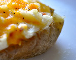 Tuna Stuffed Baked Potatoes