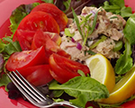 Tuna Salad with Tomato and Tarragon