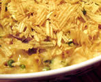 Tuna Casserole with Green Peas