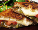 Gluten-Free Turkey Pepper Jack Sandwich with Green Chiles