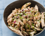 Tuscan Chicken and White Bean Salad
