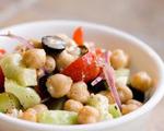 Vegetarian Mediterranean Salad