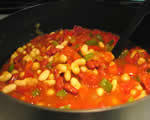 Yard Line Vegetarian Chili