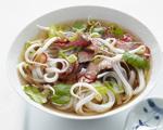 Vietnamese Pho Rice Noodle Soup