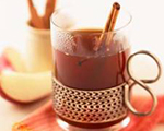 Warm Cranberry and Cinnamon Cider