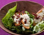 Warm Goat Cheese Croutons