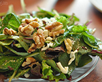 Warm Toasted Walnut Salad