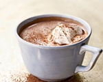 Whiskey-Spiked Hot Chocolate