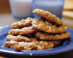 White Chocolate Chip and Oat Cookies