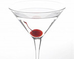 White Cranberry Martini Cocktail