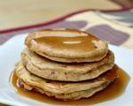 Whole wheat banana pancakes