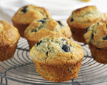 Delicius Whole Wheat Blueberry Muffins