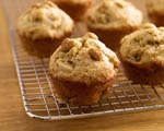 Whole Wheat Oat Banana Muffins