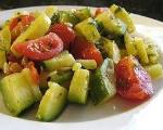 Zucchini In A Skillet
