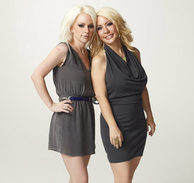 Bonnie Blossman and Whitney Whatley