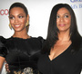 Beyonce Knowles and Tina Knowles